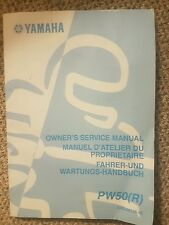 Yamaha PW50 Owners Manual