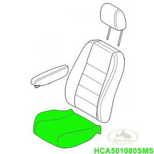 LAND ROVER FRONT SEAT CUSHION COVER ALPACA LR3 06-08 HCA501080SMS OEM