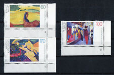 Bund 1617 - 1619 Formnummer postfrisch Eckrand FN Ecke 4 1992 MNH