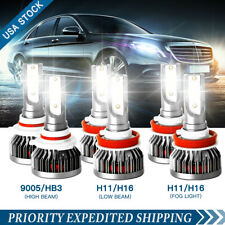 9005 H11 H9 H16 Led Headlight Kit High/Low Fog Bulb For Toyota Prius 2011-2000