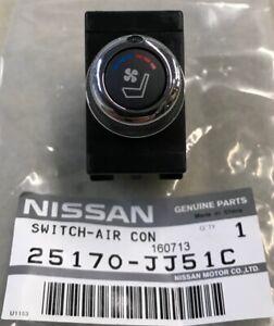 Infiniti NISSAN OEM 09-10 G37-Ac Switch 25170JJ51C