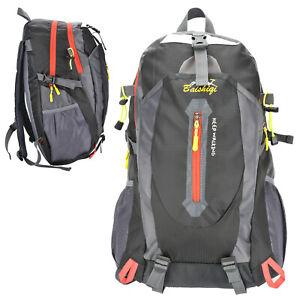 50L Wasserdicht Trekking Rucksack Wanderrucksack Reiserucksack Schultasche Sport