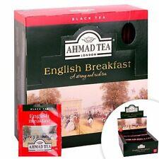 AHMAD TEA , ENGLISH BREAKFAST , 100 BUSTINE  , Scadenza 2023