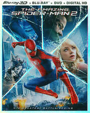 The Amazing Spider-Man 2 [3D Blu-ray/Blu-ray/DVD/Digital HD] [2014]