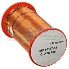 500g Rotolo filo di rame da 0,5 mm singolarmente smaltato per avvolgimenti Cavo
