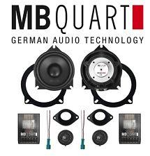 MB Quart 2 way 10cm component car speakers BMW E/F Typ