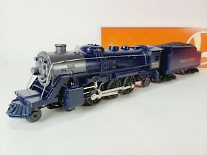 Lionel JC Penny 4-6-2 Steam Engine & Tender With Display Case O 6-18679