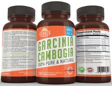 #1 Top Rated Pure Garcinia Cambogia Extract with 60% Hca Extra Strength Essen...