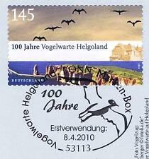 BRD 2010: Helgoland! Selbstklebende Nr. 2793 mit Bonner Sonderstempel! 1A! 1702