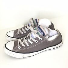 Converse All Stars Low Trainers Canvas Grey Multi Tongue Size 6 39