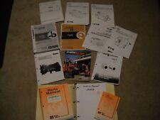 Ditch Witch Jt4020 Repair Service Parts Manuals Literature
