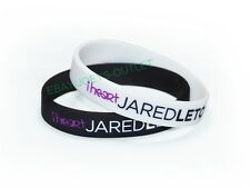 2 - I HEART JARED LETO BRACELET WRISTBAND LOVE 30 SECONDS TO MARS THIN