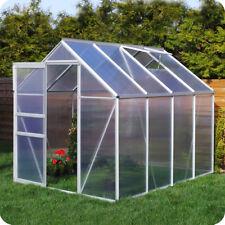Gewächshaus mit Fundament Garten Treibhaus Tomatenhaus Pflanzhaus - Plantiflex ®