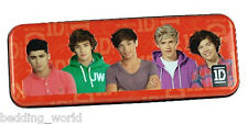 ONE DIRECTION TIN PENCIL CASE SMALL STATIONERY GIFT IDEA 1D AUTOGRAPH