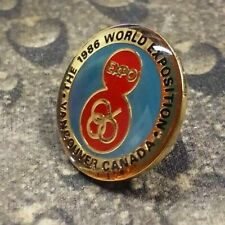 WORLD EXPO 1986 pin badge