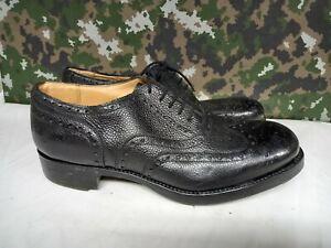 Genuine British Army Highland Issue Service Dress Shoes Brogues / Blakeys - 11 M