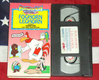 Foghorn Leghorn VHS Color Cartoons Animated Vintage Video Looney Tunes Tape Rare