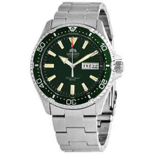 Orient Kamasu Automatic Green Dial Men's Watch RA-AA0004E19B