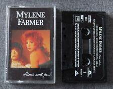 Mylene Farmer, Ainsi soit je ..., K7 audio / Audio tape
