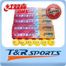 30x DHS 3 Star 40mm Table Tennis / Ping Pong WHITE Balls