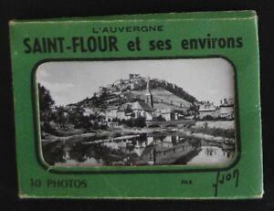 Carnet de 10 mini-photos de SAINT FLOUR et ses Environs - Ed. Yvon