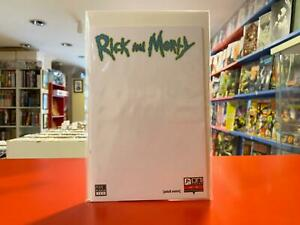 Rick and Morty #1 Turkish Blank Sketch Exclusive Variant