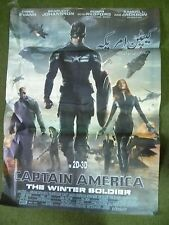 Captain America -The Winter Soldier Original asian cinema  Movie Poster