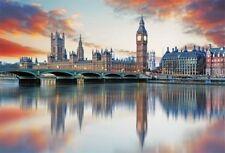 London City Backdrops Big Ben Thames River Scenic Background 7x5ft Studio Props