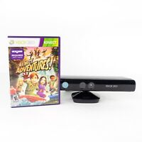 Microsoft Xbox 360 Kinect Motion Sensor Bar Model 1414 & Kinect Adventures Game