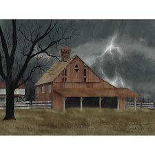 Billy Jacobs Dark and Stormy Night Farm Art Print 24 x 18