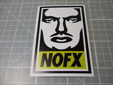 NOFX ROCK BAND Sticker/ Decal Bumper Stickers Actual Pattern NEW