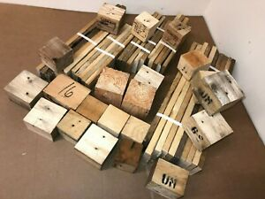 Reclaimed Pallet Wood Rustic Art & Craft Pack - Minimum 40 Items FREE DELIVERY!