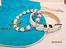 Rustic Cuff Elysia/Storni Duo-White/Silver (not available on internet)