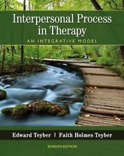 Interpersonal Process in Therapy : An Integrative Model by Edward Teyber and...