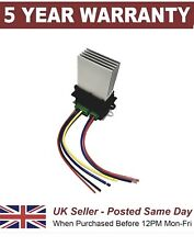 Heater Resistor + 2 Plug Wiring Harness Repair Loom  For Citroen Peugeot Renault