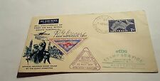 South Australia 1St Air Mail 1957 Adelaide 3 Cover (Autograph )