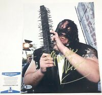 TNA Impact Wrestling Abyss Autographed 11x14 Photo Signed WWE NXT Beckett COA