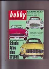 hobby 11/1959 Austin/Morris Mini 850/Formel Jun. DKW-Mitter-Spezial/Wartburg/59