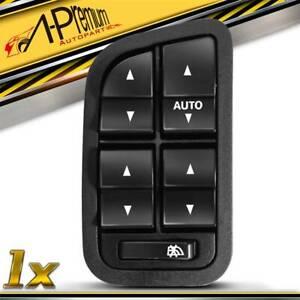 A-Premium Master Window Switch for Ford Falcon BA BF 2002-2008 w/ Illumination
