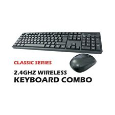 KIT COMPLETO MOUSE + TASTIERA WIFI WIRELESS LAYOUT ITA 2,4GHZ COMBO ERGONOMICO-