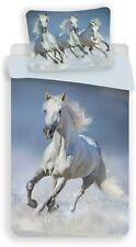 Pferde Kinder Bettwäsche Set 135-140x200 cm Deckenbezug - Bettwaren baumwolle