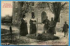 CPA: Une Tombe dans la Cour du Château de GERBEVILLER / Guerre 14-18