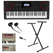 Casio Ct-X3000 61-Key Portable Keyboard Key Essentials Bundle