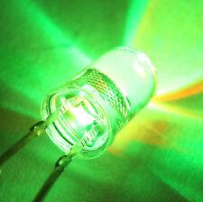10x LED TUNING TRICOLORE CLIGNOTANTE EN VAGUE LENTE ROUGE VERT BLEU 5mm lot 10p