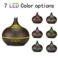 Hollow Timing WiFi Aroma Diffuser LED Ultrasonic Humidifier Air Purifier w/Lamp