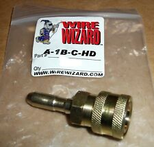 """WELDING WIRE WIZARD A-1B-C-HD OUTLET FOR PFA QUICK DISCONNECT LARGER THAN 1/16"""""""