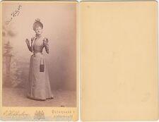 altes CdV Foto um 1890 Kgl. Hofschauspieler Hofoper Kopenhagen    ( F12345