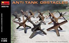 MiniArt 1/35 Anti Tank Obstacles # 35579