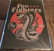 Foo Fighter Posters Metal Wall Sign New