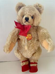Steiff Blond Original Teddy Bear, #0201/41, 1968 - 1977